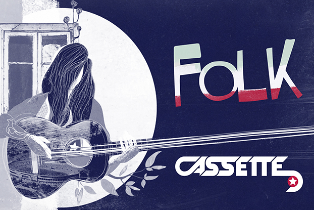 """Cassette """"Folk"""""""